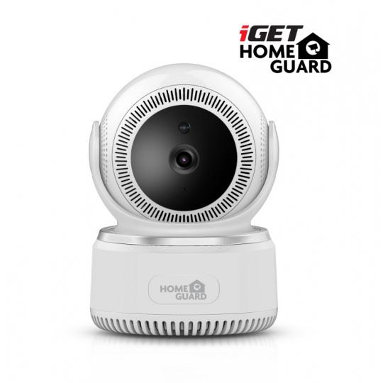 iGET HGWIP812 - bezdrát. rotační IP FullHD 1080p kamera, WiFi, zvuk, noční vidění, microSD slot