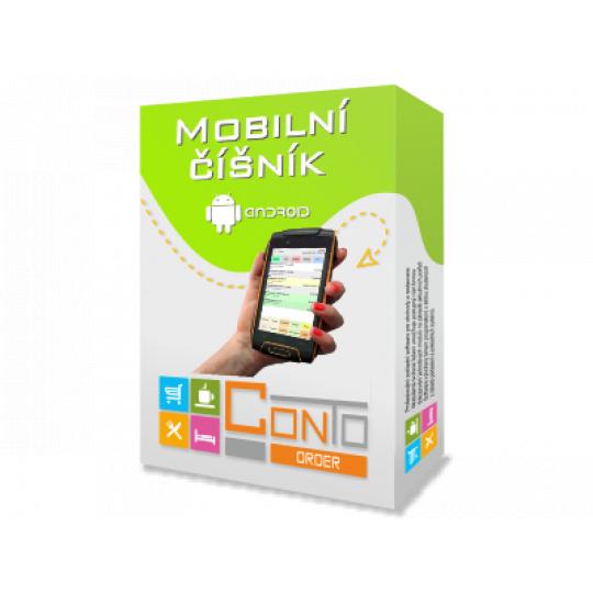 Mobilní číšník Conto Order s telefonem, pouzdrem a tiskárnou