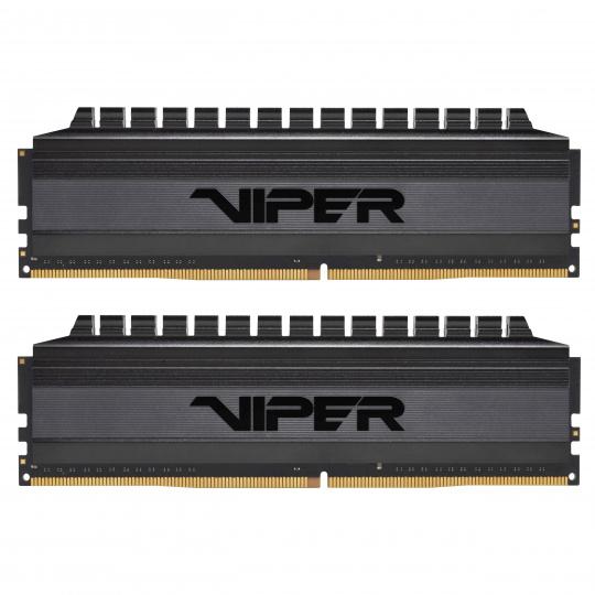 16GB DDR4-4000MHz Patriot Viper 4 Blackout CL19, kit 2x8GB