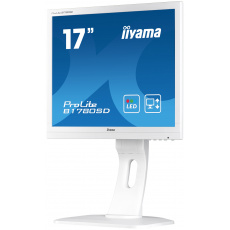 "17"" LCD iiyama Prolite B1780SD-W1 - 5ms,250cd/m2,1000:1,5:4,VGA,DVI,repro,pivot,výšk.nastav.,bílý"