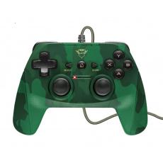 TRUST GXT 540C Yula Wired Gamepad- camo