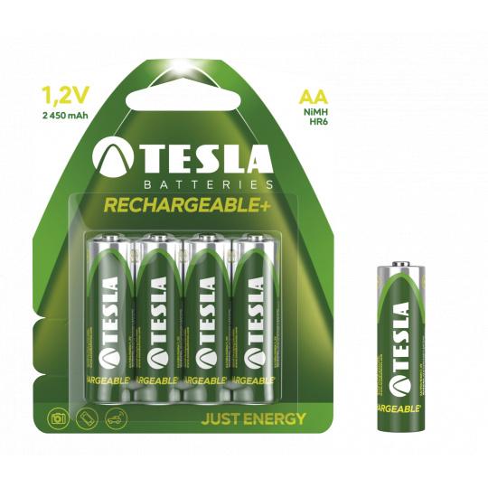 TESLA - baterie AA RECHARGEABLE+, 4ks, HR6