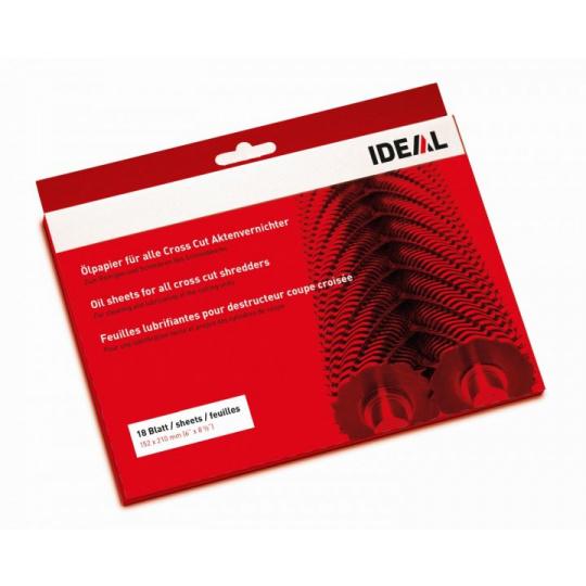 Čistící olejový papír EBA - pro skartovače