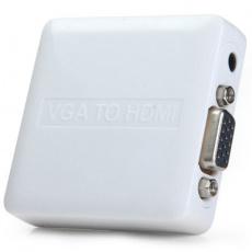 PremiumCord VGA + audio elektrický převodník na HDMI