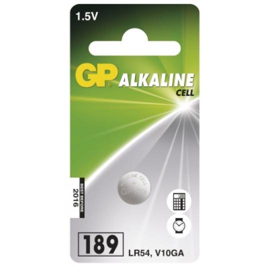 GP LR54, GP189, GP389, L1130, 1ks, alkalická baterie