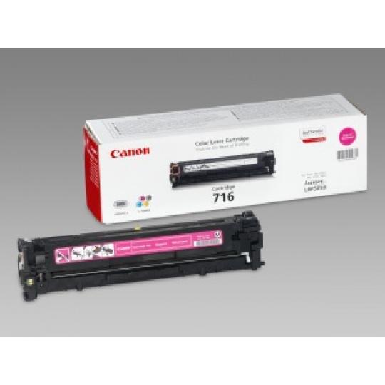 Canon toner CRG-716M, purpurový