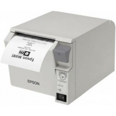 Epson pokladní termotiskárna TM-T70II, světlá, USB+RS232, zdroj
