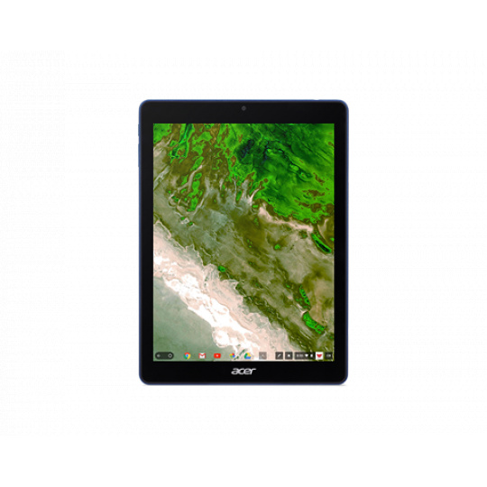 "Acer Chromebook Tab 10, D651N-K9KA, 9.7T"" QXGA, Rockchip RK3399, 4GB, 32GB, Chrome, modrý"