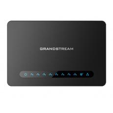 Grandstream HT818 (ATA), 8x FXS, 2 SIP účty, 1x Gbit LAN, NAT router, 3-cestná konf., auto-provisio.
