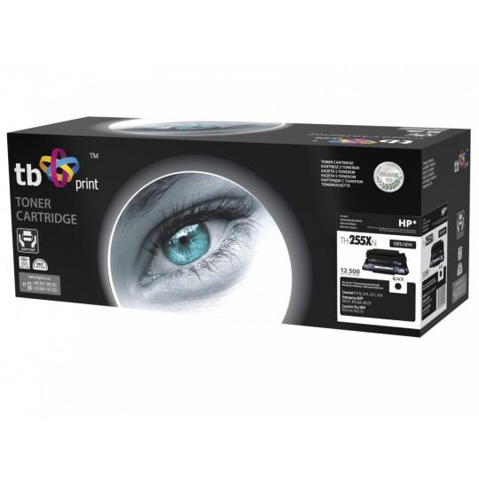 Toner TB kompatibilní s HP CE255A 100% new, Black