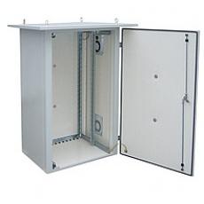Rack termoizolovaný LC-07, 15U 700x400, RAL 7035 s vent. pravá bočnice