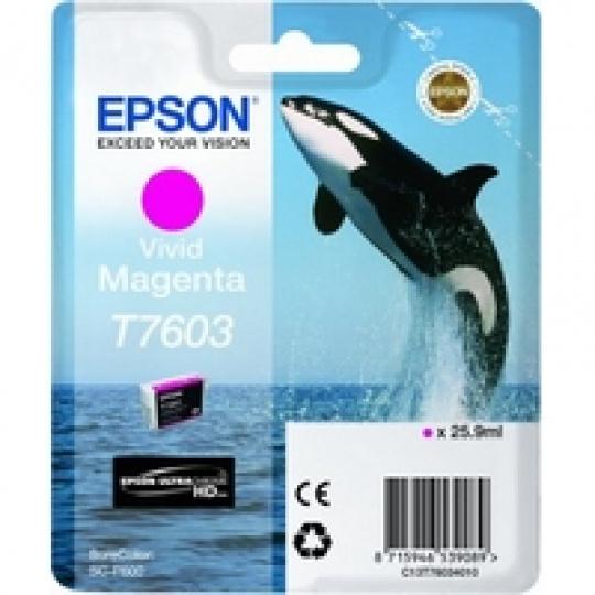 Epson T7603 Ink Cartridge Vivid Magenta