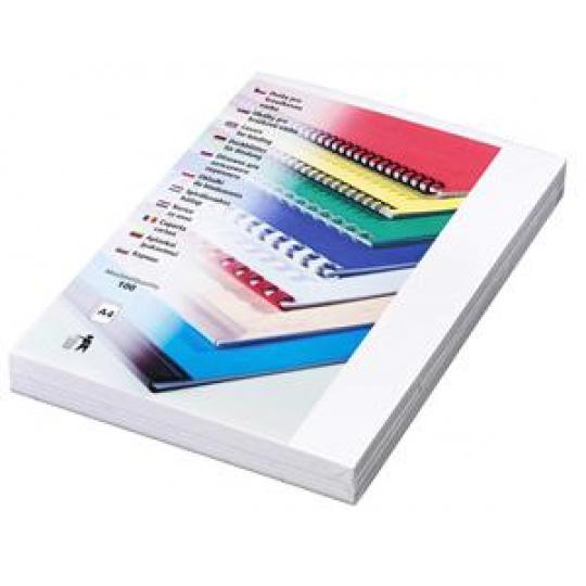 Kartonové desky Delta A4, 250g, bílá