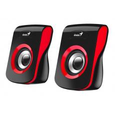 Speaker GENIUS SP-Q180, RED, USB, 6W