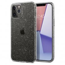 "Ochranný kryt Spigen Liquid Crystal Glitter pro Apple iPhone 12/iPhone 12 Pro (6,1"") transparentní"