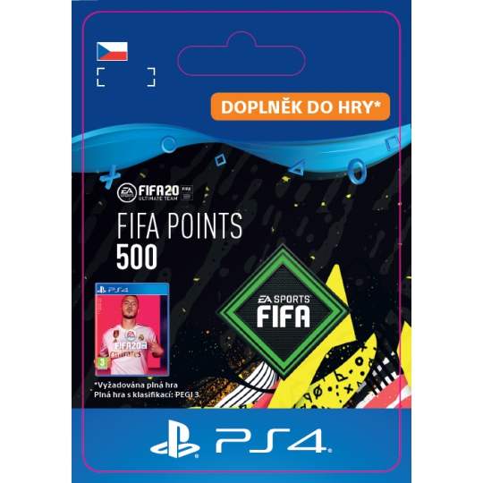 ESD CZ PS4 - FIFA 20 Points 500