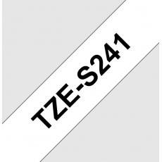 TZE-S241,  bílá/černá, 18mm