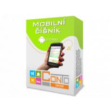 Conto Order mobilní číšník Android upgrade