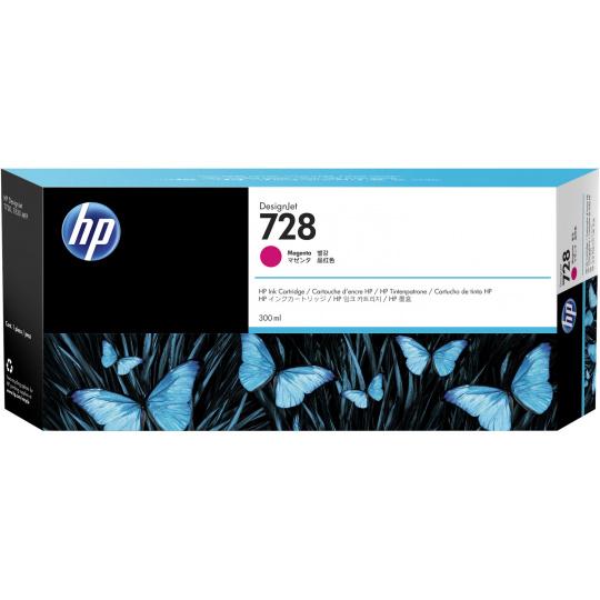 HP no 728 300-ml purpurová ink. kazeta