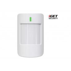 iGET SECURITY EP17 - PIR senzor bez detekce zvířat do 20 kg, pro alarm M5, výdrž baterie až 5 let