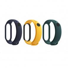 Xiaomi Mi Band 5 řemínky Blue,Yellow,Green