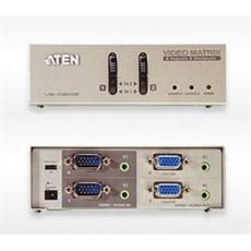 ATEN Matrix video switch, 2x PC - 2x monitor