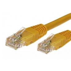 TB Touch Patch kabel, UTP, RJ45, cat6a, 1m, žlutý