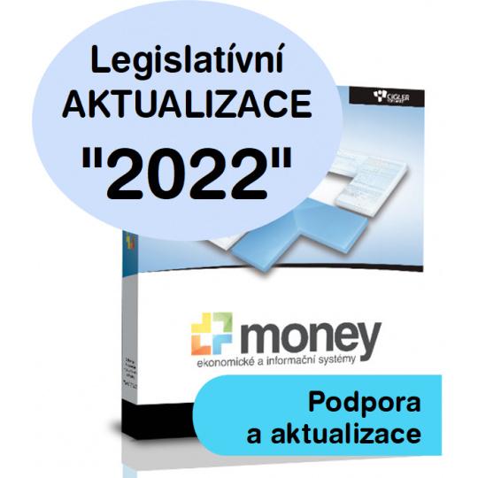 SW Money S3 - aktualizace 2022 - Další licence s PÚ (pro Money S3 Office a Premium)