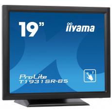 """19"""" iiyama T1931SR-B5 - TN,SXGA,5ms,250cd/m2, 1000:1,5:4,VGA,HDMI,DP,USB,repro,výška."""