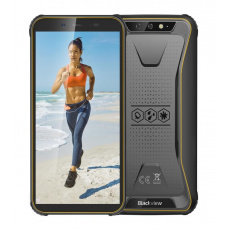 "iGET Blackview GBV5500 Plus Yellow odolný telefon, 5,5"" HD+, 3GB+32GB, DualSIM, 4G, 4400mAh, NFC"
