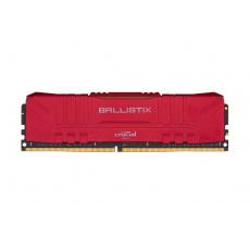16GB DDR4 3000MHz Crucial Ballistix CL15 2x8GB Red