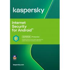 Kaspersky Internet Security Android 1x 1 rok Obnova