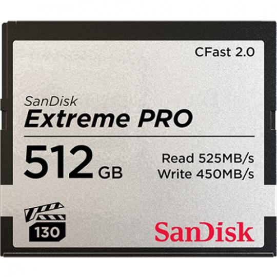 SanDisk Extreme Pro CFAST 512GB 525MB/s