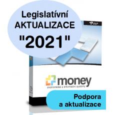 SW Money S3 - aktualizace 2021 - Další licence s PÚ (pro Money S3 Office a Premium)