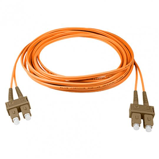 Optický patch kabel duplex SC-SC 50/125 MM 3m OM3