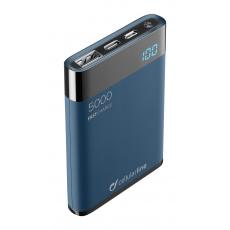 PB Cellularline Manta HD,5000 mAh,USB-C, modrá