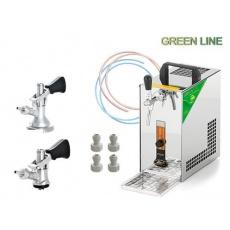 PYGMY 25/K Green Line + 2x naražeč (Bajonet a Plochý)