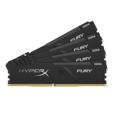 16GB DDR4-2666MHz CL16 HyperX Fury, 4x4GB