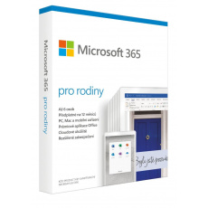 Microsoft 365 Family P6 Mac/Win, 1 Rok, SK