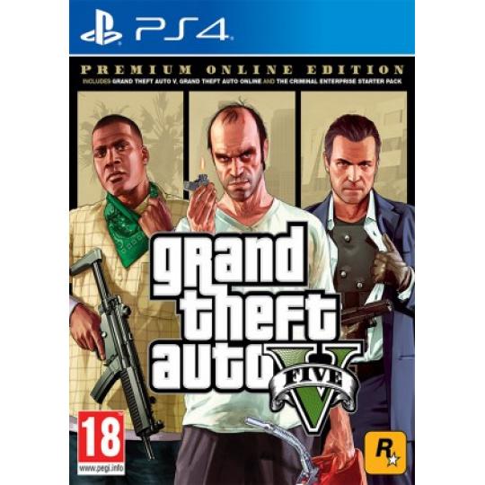 PS4 - Grand Theft Auto V Premium Edition
