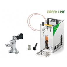 PYGMY 20 Green Line + 1x naražeč (Plochý) a autoventil