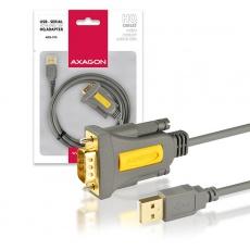AXAGON ADS-1PS, USB2.0 - sériový RS232 DB9 Prolific adaptér / kabel 1,5m