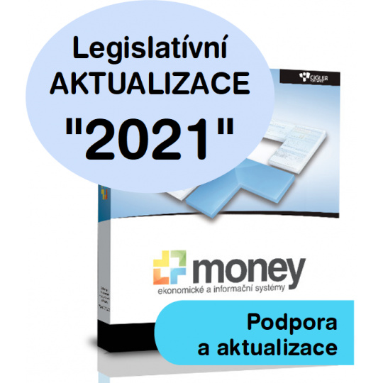 SW Money S3 - aktualizace 2021 - Evidence tržeb (EET)
