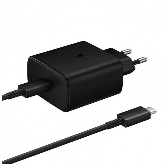 Samsung rychlonabíječka EP-TA845, 45W Black