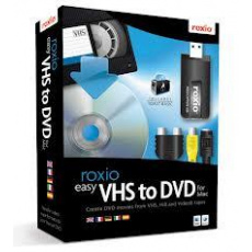 Roxio Easy VHS to DVD for Mac Eng (box)