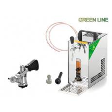 PYGMY 20 Green Line + 1x naražeč (Bajonet) a autoventil
