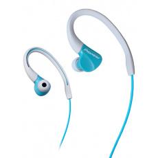 Pioneer SE-E3 závěsná sportovní sluchátka světle modrá
