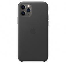 iPhone 11 Pro Max Leather Case - Black