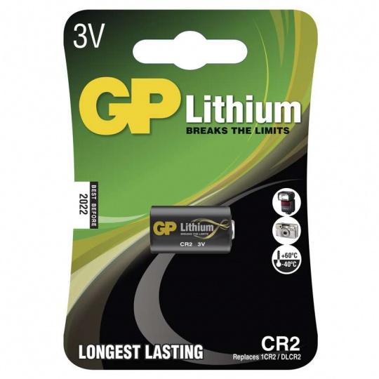 GP CR2, 1ks, lithiová baterie