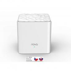 Tenda Nova MW3 (1-pack) Wireless AC1200 Mesh system Dual Band, 2x LAN, MU-MIMO, SMART aplikace